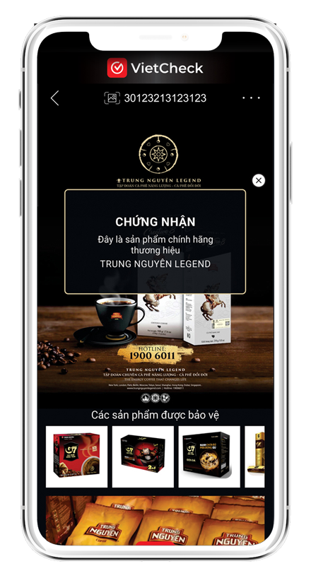 Screenshot VietCheck App